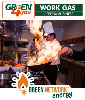 Offerta Happy Green Work Gas