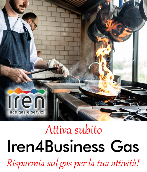 Offerta Iren4Business Gas